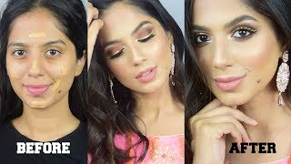 SUBTLE & FRESH Party Makeup FOR BROWN/DARK/INDIAN SKIN I Indian Wedding Makeup