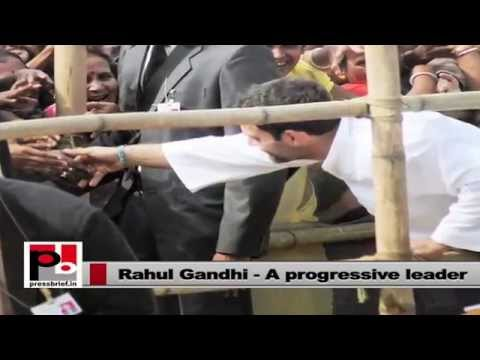 Rahul Gandhi-the young Congress leader who always focussed on people's welfare
