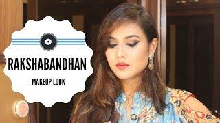 RAKSHA BANDHAN MAKEUP LOOK  INDIAN FESTIVAL ====#====