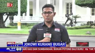 Tidak Fit, Jokowi Tetap Beraktivitas Seperti Biasa