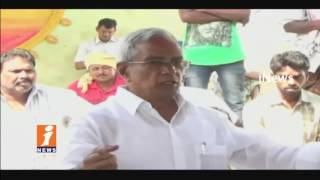CPM Continues Fight Against Godavari Mega Aqua Food Park |  West Godavari | iNews