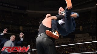 Shane McMahon fights back against The Undertaker: Raw