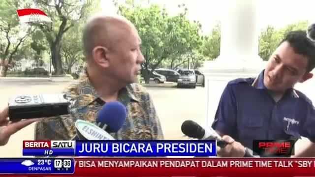 Presiden Jokowi Belum Butuh Juru Bicara