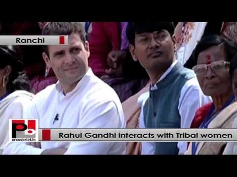 Rahul Gandhi- Tribal women need education, health & political participation
