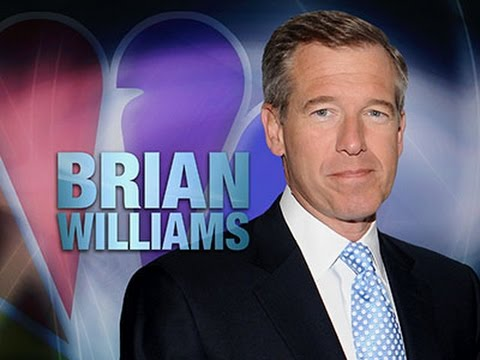 Audio of Brian Williams Helicopter Explanation News Video