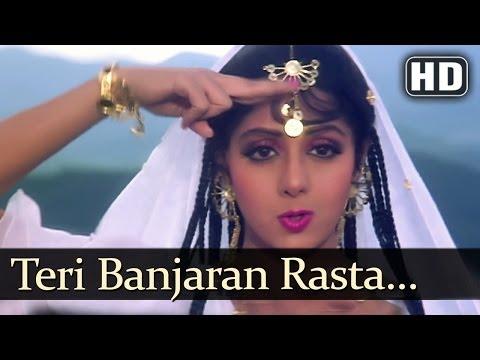 Teri Banjaran Rasta (HD) - Banjaran Songs - Rishi Kapoor - Sridevi - Alka Yagnik - Superhit Old Song
