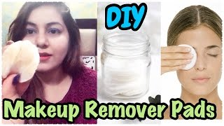 How to Made Makeup Remover Wipes at Home | Homemade Makeup Remover Pads | JSuper Kaur