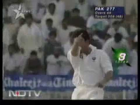 Sachin Tendulkar ABUSING after taking wicket, 1996 India vs Pakistan, Never before Seen Video - Cricket Classic Video