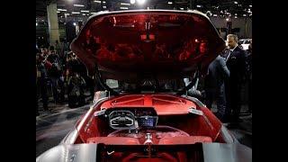 Auto Expo 2018- India premiere of Renault's electric supercar Trezor