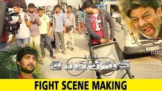 Gentleman Movie Making Fight Scene Making Nani, Niveda Thomas