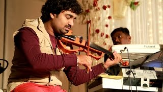 'IIangattu Veesuthe' Abhijith P S Nair on Violin Live With His fusion Band