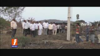 ML A Madanlal Arrange Infrastructure To NL Nagar Village | Khammam | iNews