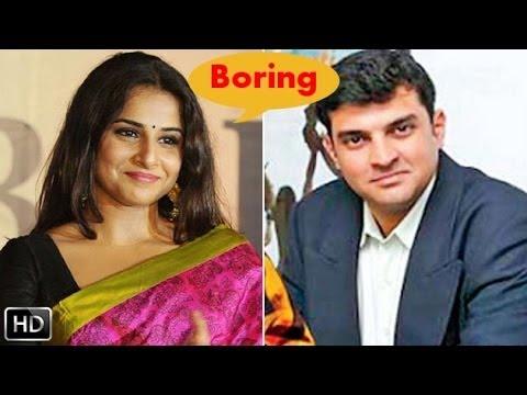 Siddharth Is Boring Says Vidya