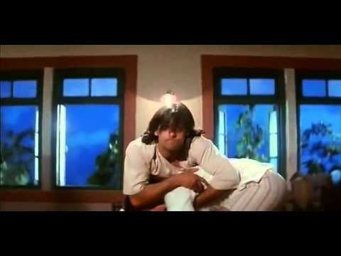 Salman and Aamir's comedy fight - Andaz Apna Apna - Bollywood Movie Comedy Scene