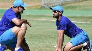 B'luru Test- No question of dropping Rahane, says Kumble