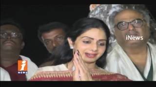 Actress Sridevi And Boney Kapoor Visits Tirumala | iNews