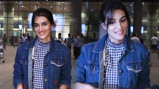 Kriti Sanon SPOTTED At Mumbai Airport, Returns From DUBAI