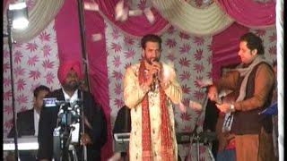 नैना देवी मंदिर में विशाल जागरण आयोजित, गायक सतविंदर बुग्गा ने बाँधा समां