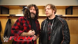 Mick Foley gives Dean Ambrose a familiar equalizer: Raw