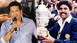 Sachin Tendulkar SHARES Memories Of WORLD CUP 1983 | Sachin A Billion Dreams Trailer Launch
