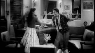 C.A.T Cat Maane Billi - Dilli Ka Thug(1958) - Kishore Kumar & Asha Bhonsle - { Old Is Gold}