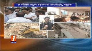 NDRF Speed Up Rescue Operations at Nanakramguda Building Collapse | 3 Rescued | iNews