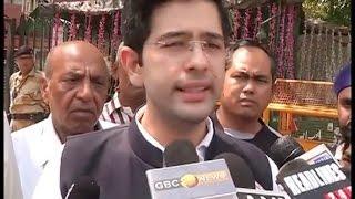 झाड़ू छोड़ विधायक वेद प्रकाश ने थामा कमल, संजय सिंह बोले- पार्टी के खिलाफ साजिश