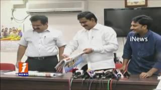 AP Minister Devineni Uma Launches iNews 2017 Calendar At Collector Office Vijayawada | iNews