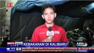 Ratusan Korban Kebakaran Senen Tinggal di Posko Pengungsian