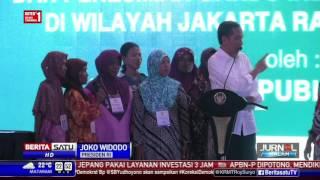 Obrolan Jokowi dengan Warga yang Belum Punya Listrik Sendiri