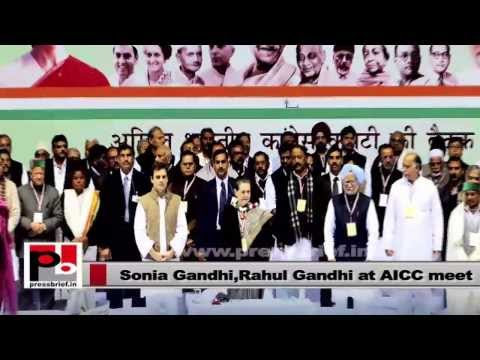 Sonia Gandhi, Rahul Gandhi- Congress is a party which respects constitution