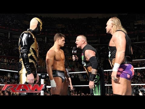 Cody Rhodes & Goldust vs. The New Age Outlaws - WWE Tag Team Championship Match- Raw, Jan. 27, 2014 - WWE Wrestling Video