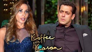 Salman Khan AVOIDS Iulia Vantur On Koffee With Karan 5