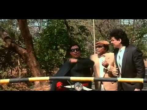 Crime Master Gogo Scene - Andaz Apna Apna - Bollywood Movie Comedy Scene