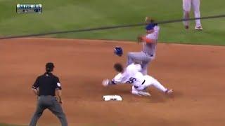 Chase Utley Breaks Ruben Tejeda's Leg - Dirty Slide into 2nd Base
