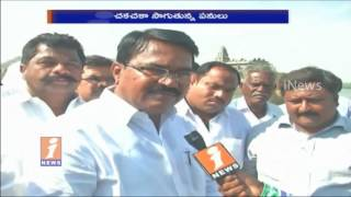 TRS Niranjan Reddy Face To Face Over Kalwakurthy Lift Irrigation Project | iNews