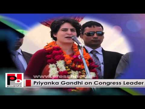 Young Priyanka Gandhi Vadra, a genuine person who easily connects with people