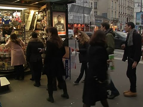 High Demand in Paris for New 'Charlie Hebdo' News Video