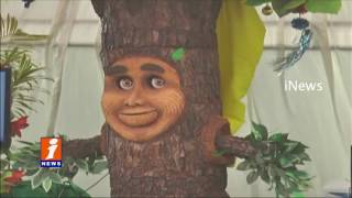 Special Tree Attracts Visitors In Children Science Festival At Padmavathi University   iNews