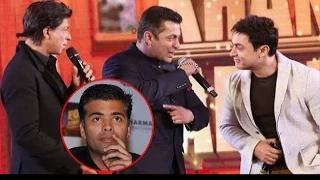 Karan Johar Says, Salman Khan, Shahrukh Khan, Aamir Khan Can Play Homo$exuals In A Film