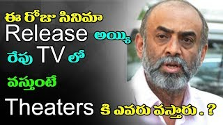 Suresh Babu Outstanding Comments on Tollywood Film industry | Suresh Babu | Top Telugu Tv |