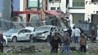 Raw- Explosion Near Bus Terminal in Turkey - News Video