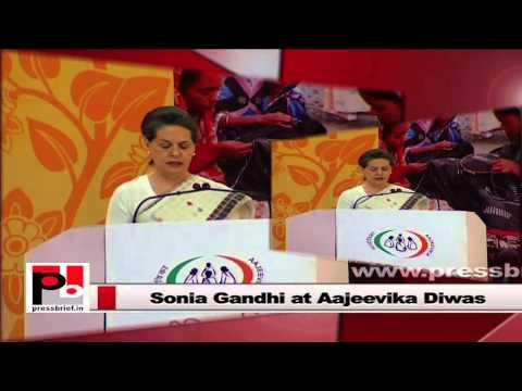 Sonia Gandhi-  Modi sold fake dreams to Indians