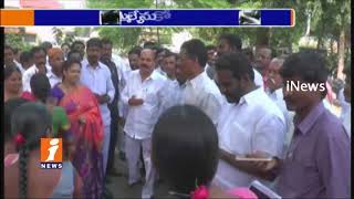 MLA Chinta Prabhakar Abused Reaction On Women's Demands To Remove Wine Shop In Ayyappa Colony| iNews