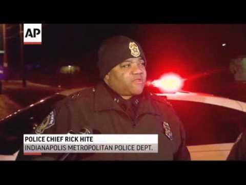 4 Ind. SWAT Team Members Wounded in Shooting News Video