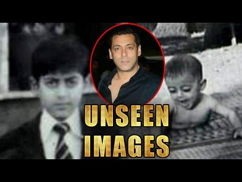 Salman Khan's UNSEEN Images | 'Childhood Photos'| LehrenTV