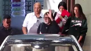 Amitabh Bachchan returns from Maldives after celebrating 75th Birthday