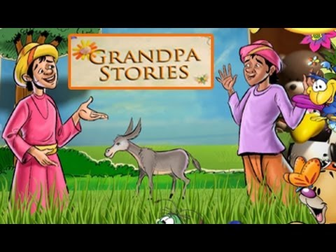 Grandpa Stories - The Farmer And His Donkey - English Moral Story For Kids