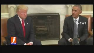 Donald Trump Meets Obama at White House | iNews