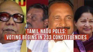 Tamil Nadu Elections update- 42.1 per cent turnout till 1 PM